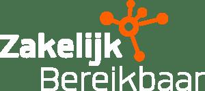 Logo Zakelijk Bereikbaar Wit
