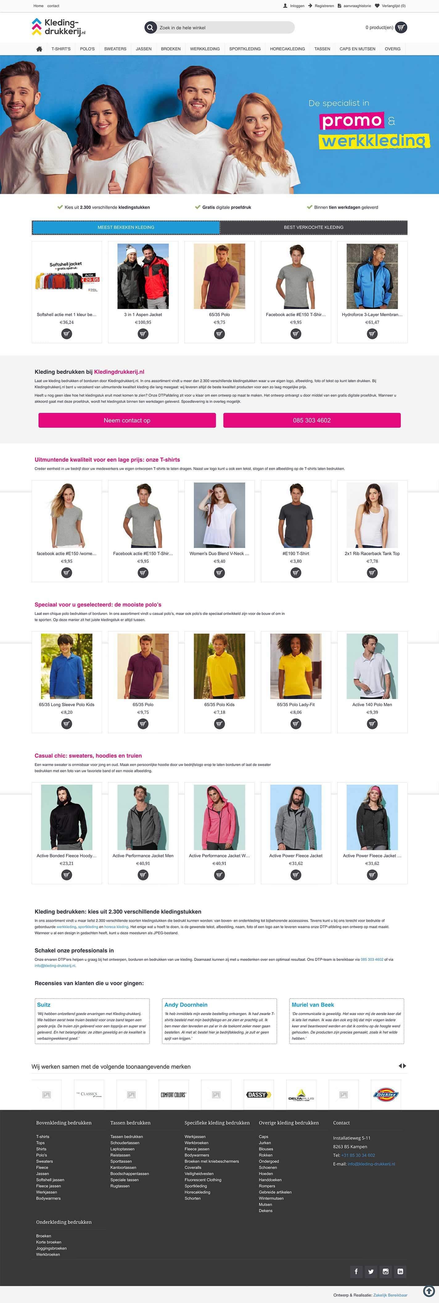 kleding-drukkerij