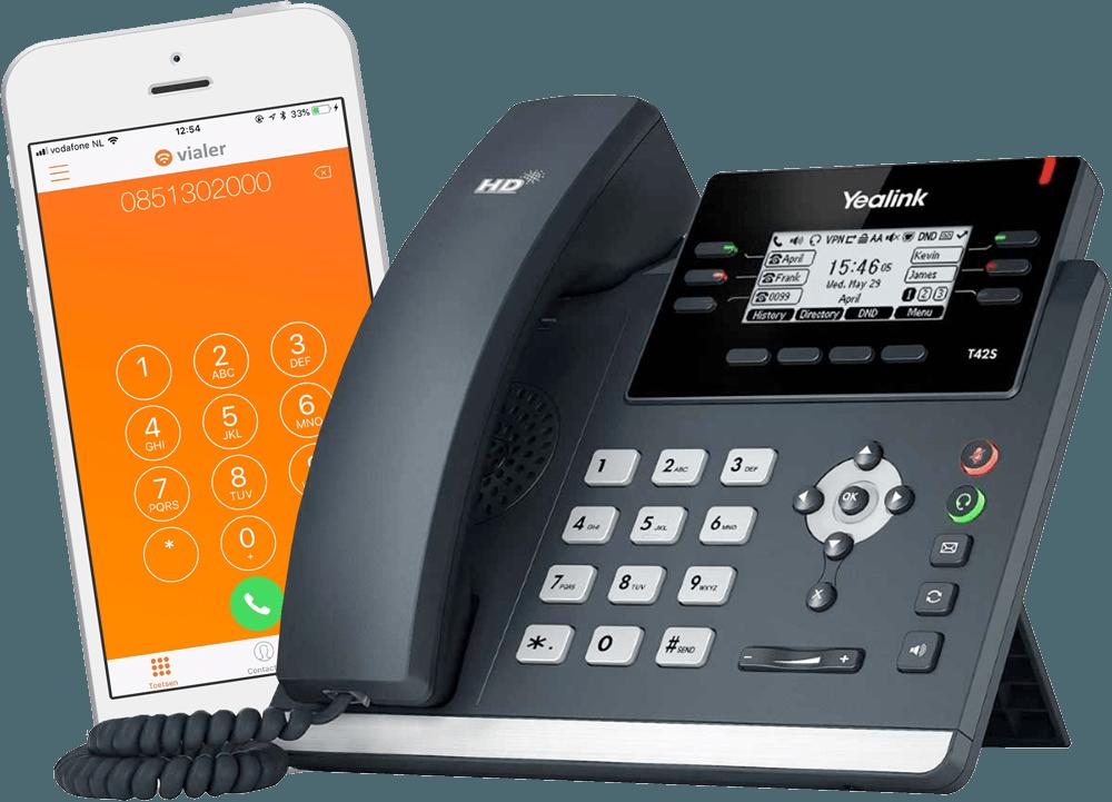 telefonie toestel vialer